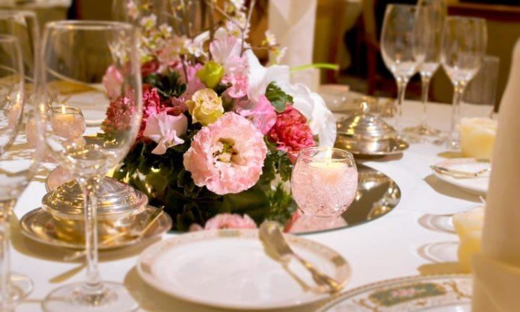 結婚式テーブル