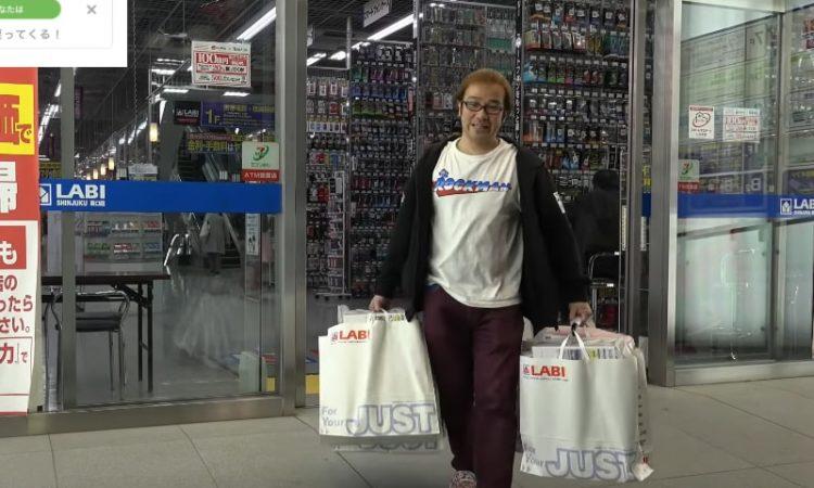 ファミコン芸人フジタの爆買い